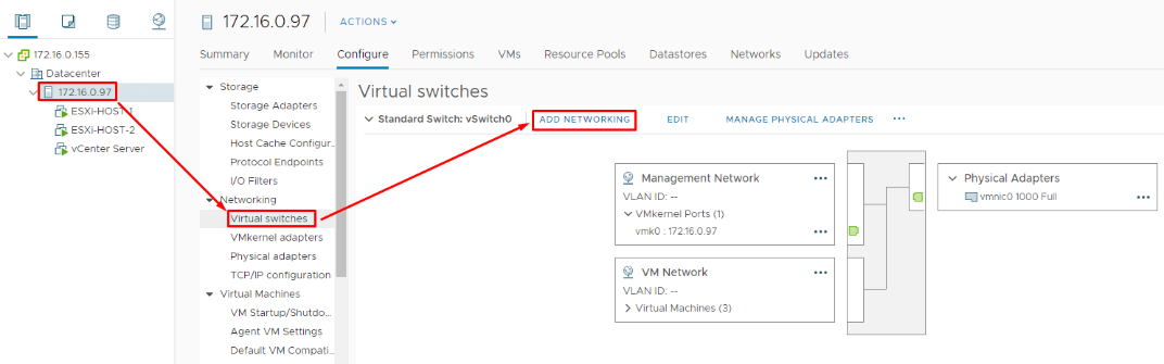 Create 2 more vSwitches to distinguish somehow vMotion and vSAN traffic from everything else